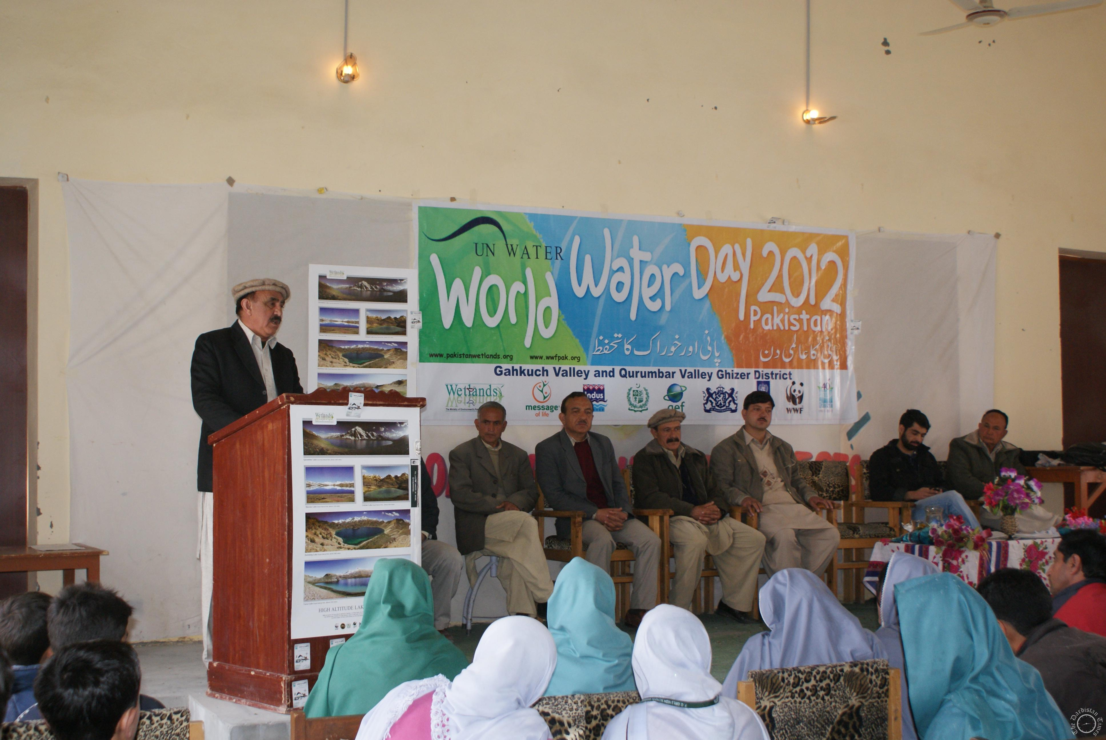 World Water Day 2012 Celebration in Gahkuch Ghizer